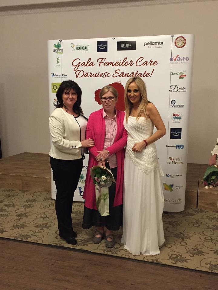 """Moașa Vania la Gala """"Femeilor care dăruiesc sănătate"""""""