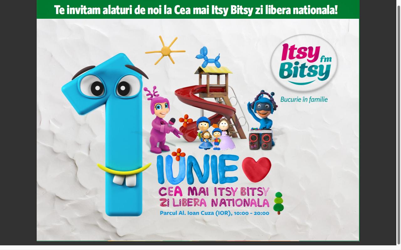 """Active Center răspunde """"prezent"""" la """"Cea Mai Itsy Bitsy Zi Liberă Naţională"""""""