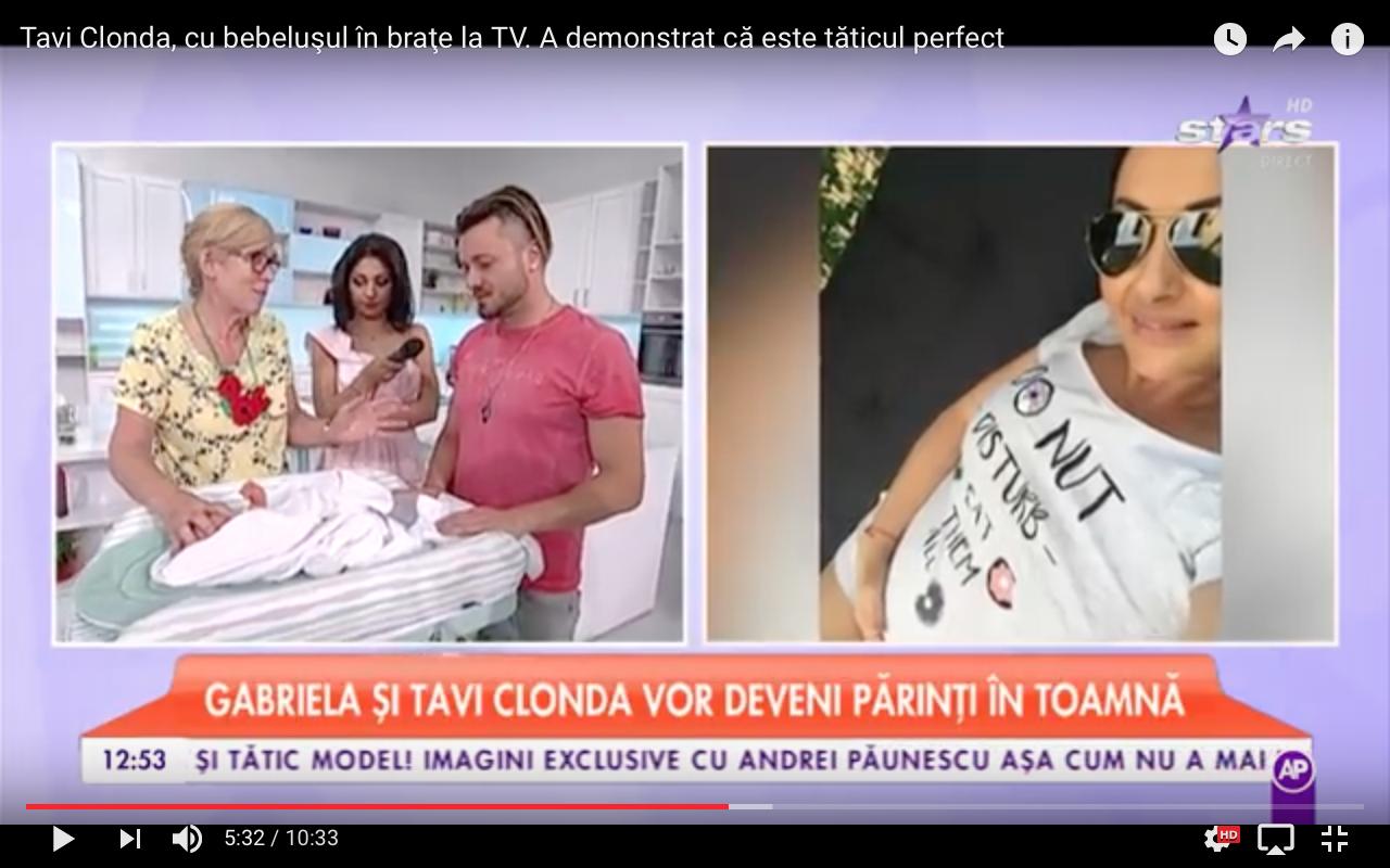 Educație pentru un viitor tătic în direct la Antena Stars