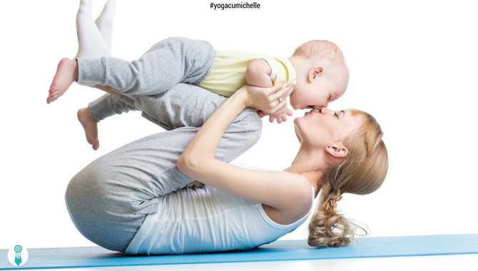 9 motive de a practica mom & baby yoga