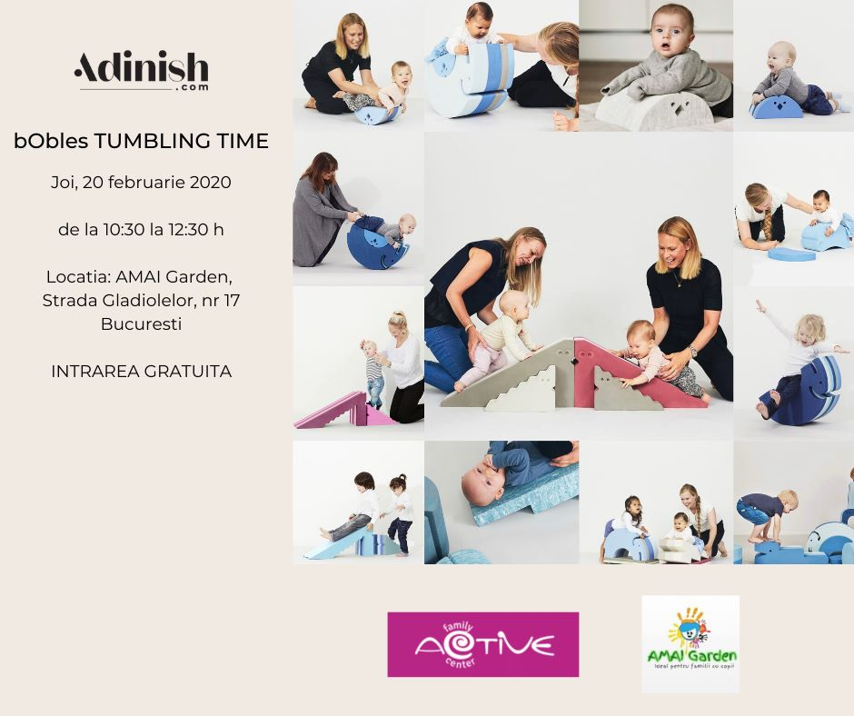 Tumbling Time Event   – joi, 20 februarie